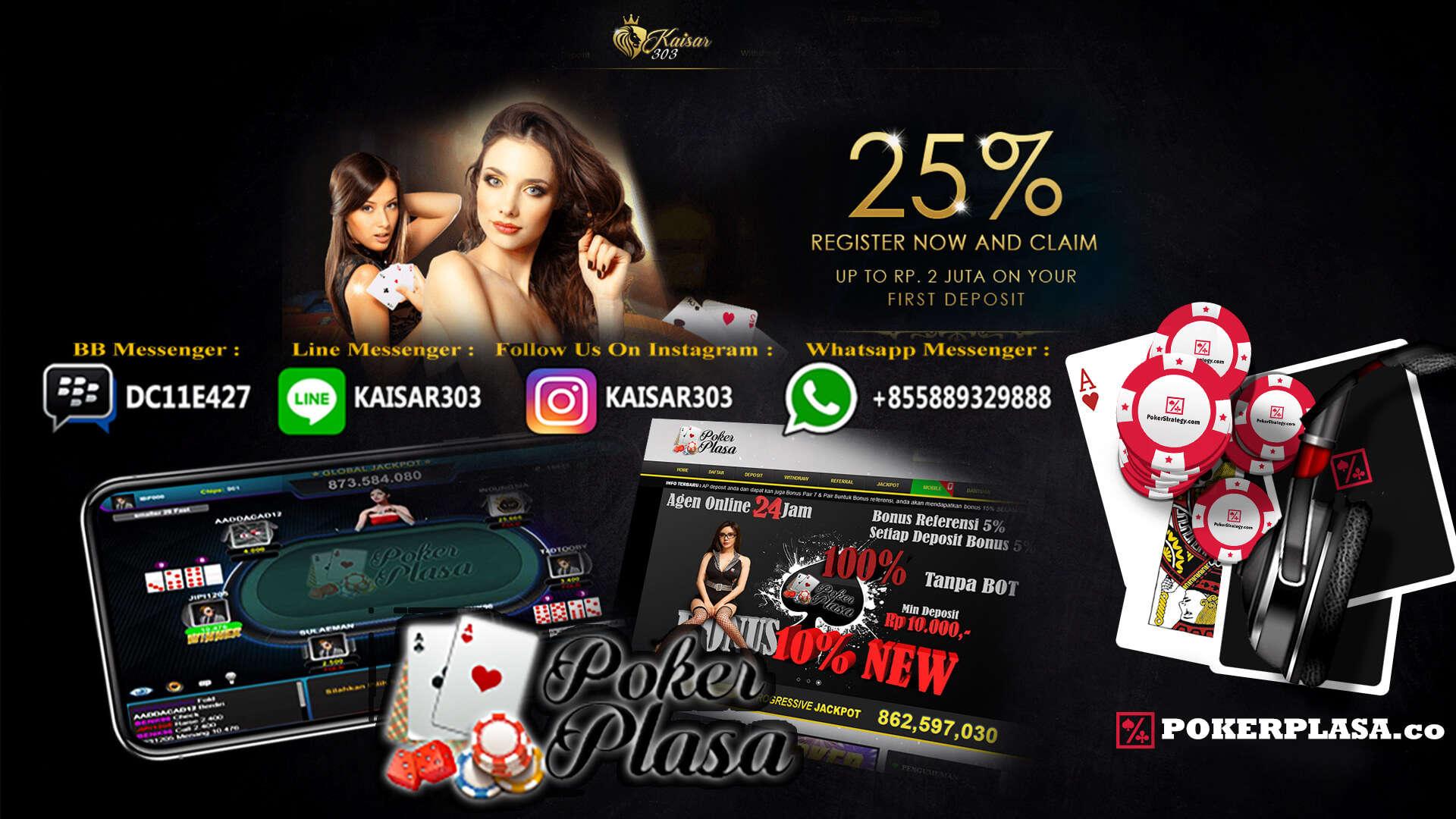 Poker Online Bonus Pair 20 Ribu