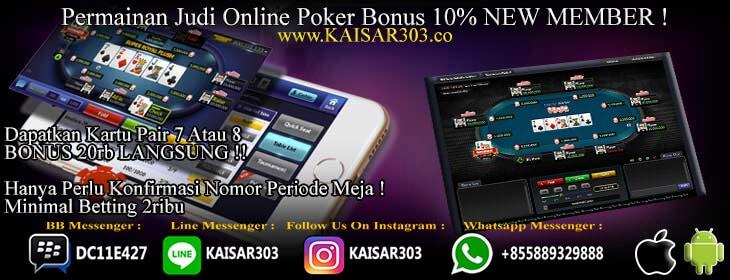 Poker Online Tanpa Bot