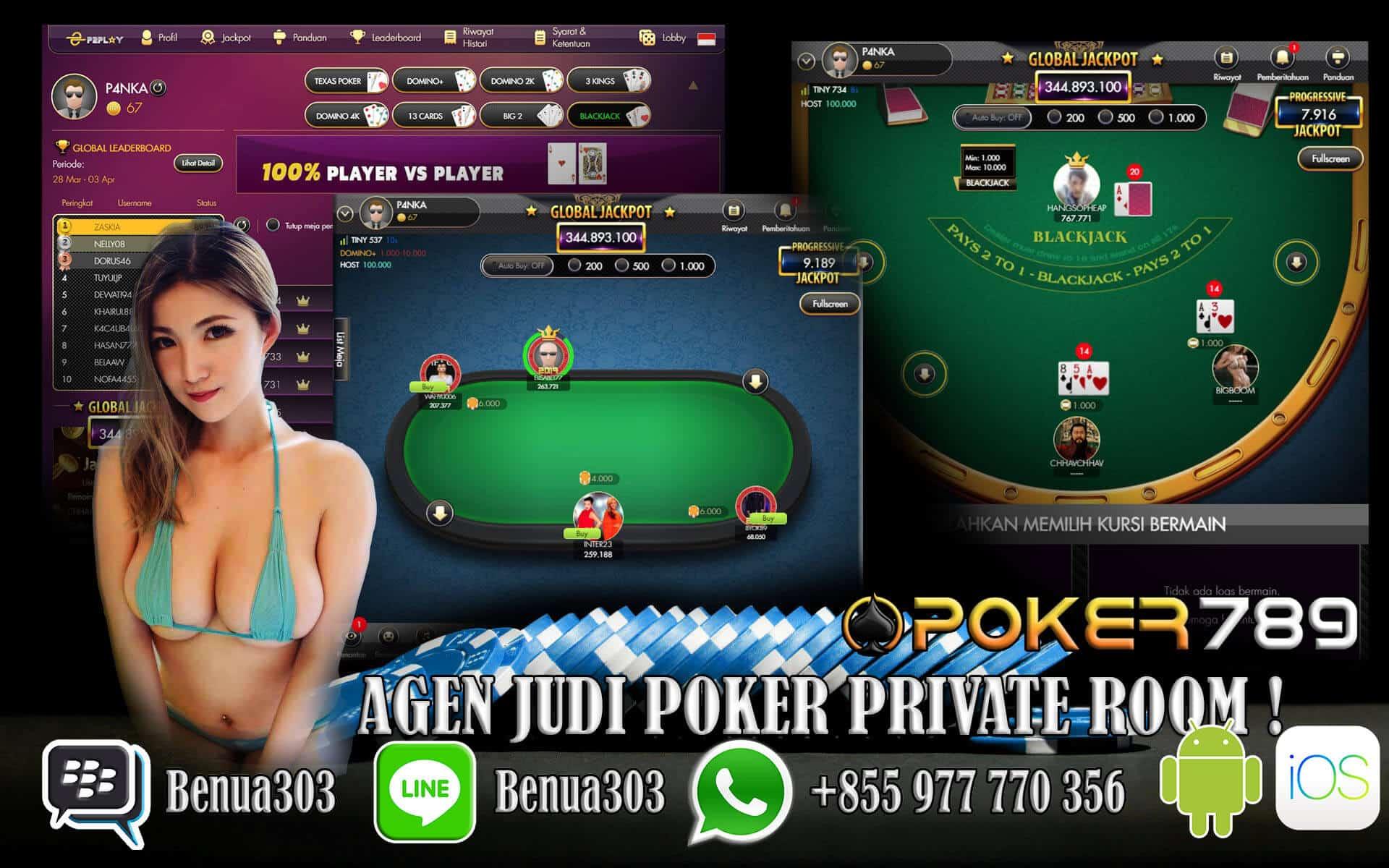 Bermain Dengan Teman Poker Online Private Room